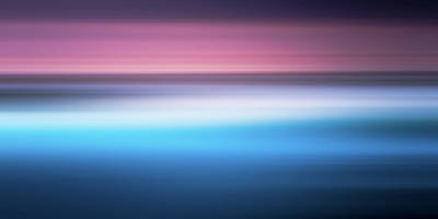 Photograph - Seascape Sunrise Abstract by Paul Mcgee