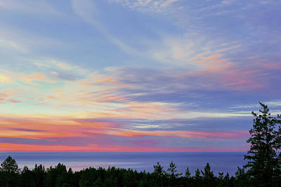 Photograph - Seaside Sunrise Above The Pacific by Kathleen Bishop