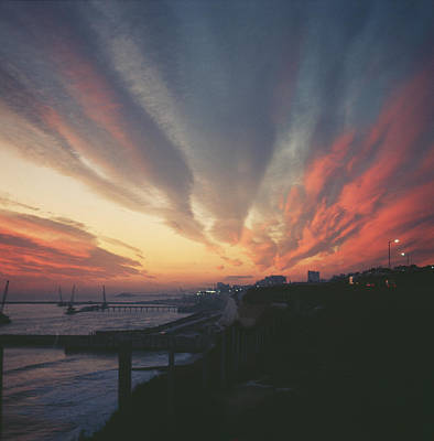 Photograph - Seaside Sunset by Kenneth Rittener
