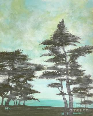 Painting - Seaside  by Wonju Hulse