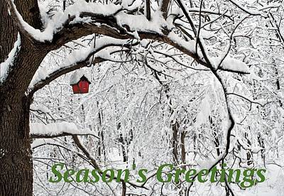 Photograph - Season's Greetings by R  Allen Swezey