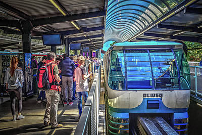 Photograph - Seattle Center Monorail by Spencer McDonald