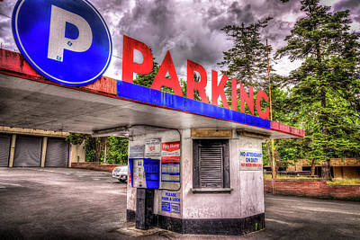 Photograph - Seattle Center Parking by Spencer McDonald