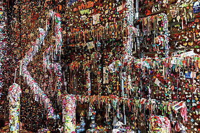 Olympic Sports - Seattle Gum Wall by Kelley King