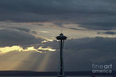 Photograph - Seattle Light by Suzanne Lorenz