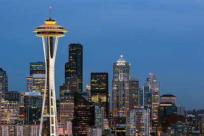 Photograph - Seattle Space Needle by Nicole Young