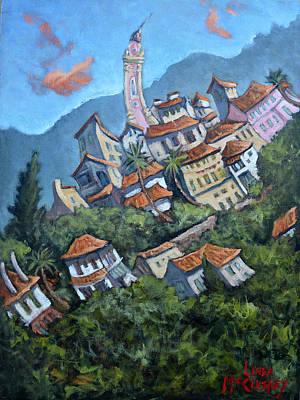 Painting - Seborga Summer by Linda Mccluskey