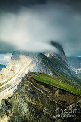 Wall Art - Photograph - Seceda 2500m by Sebastien Coell