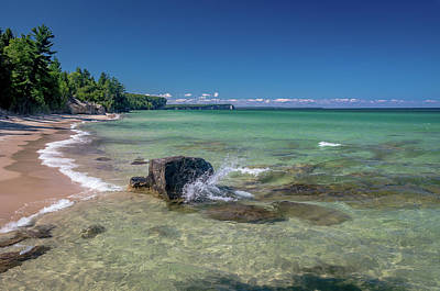 Photograph - Secluded Beach by Gary McCormick