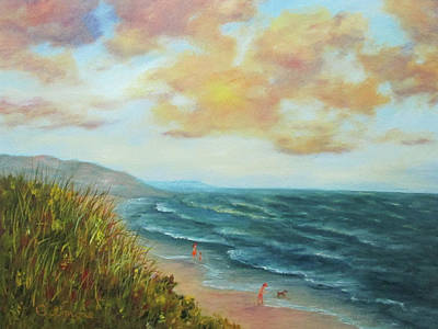 Painting - Secluded Beach by Roseann Gilmore