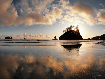 Photograph - Second Beach by Leland D Howard