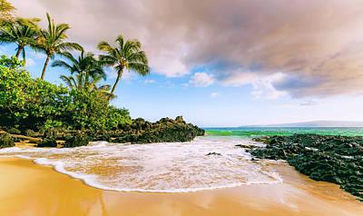 Photograph - Secret Beach 1 _ Maui by Nick Borelli