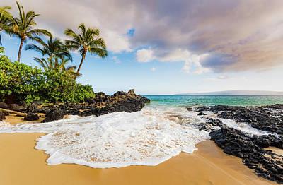 Photograph - Secret Beach 2 - Maui by Nick Borelli