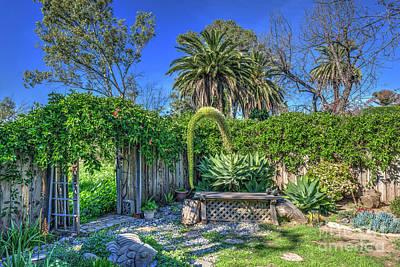 Garden Fruits - Secret Succulent Garden Blooming by David Zanzinger