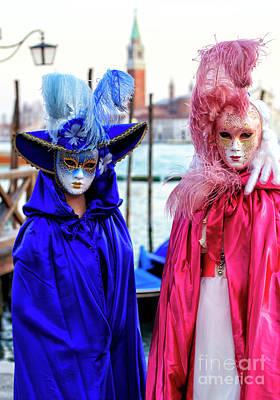 Photograph - Secrets At The Carnevale Di Venezia by John Rizzuto