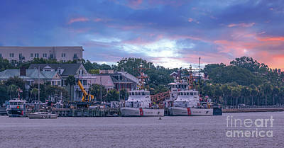 Photograph - Sector Charleston - Atlantic Area - United States Coast Guard by Dale Powell