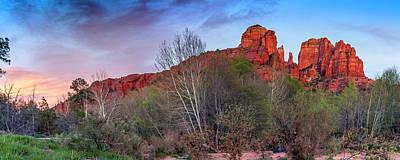 Photograph - Sedona, Az - Worshiping At Sunset by ProPeak Photography