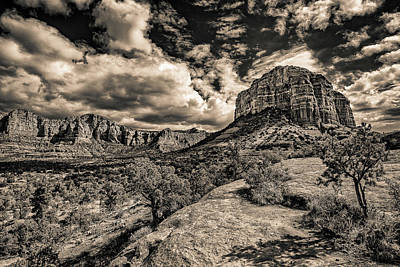 Photograph - Sedona Landscape 2 by William Christiansen