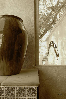 Photograph - Sedona Series - Jug And Window by Ben and Raisa Gertsberg