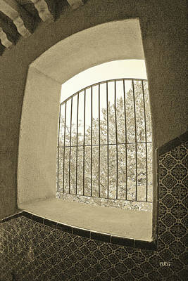 Photograph - Sedona Series - Through The Window by Ben and Raisa Gertsberg