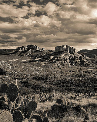 Photograph - Sedona - View From The Airport Trail 2 by William Christiansen