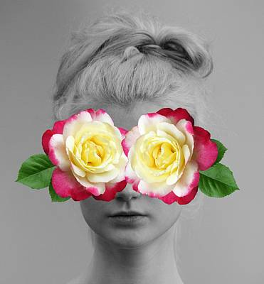 Photograph - Seeing Roses by Marianna Mills