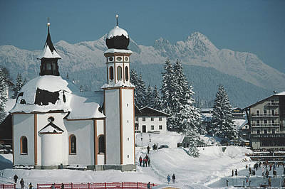 Photograph - Seekirchl In Seefeld by Slim Aarons