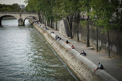 Photograph - Seine by Jim Mathis