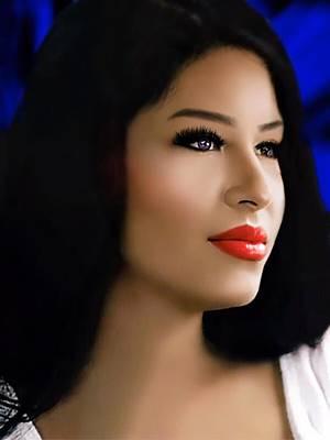 Digital Art - Selena Forever In Our Hearts by Karen Showell