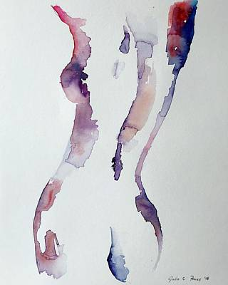 Painting - Self Portrait #3  by Julia S Powell