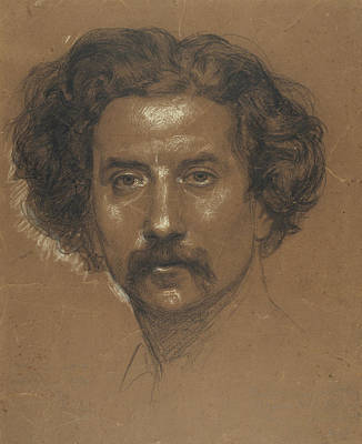 Drawing - Self-portrait by Ramon Marti Alsina