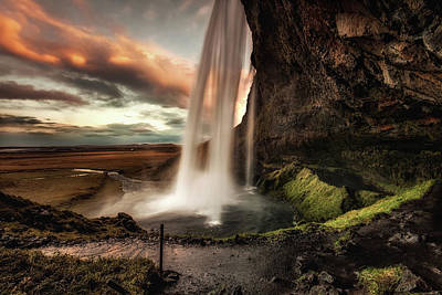 Photograph - Seljalandsfoss by Jorge Maia