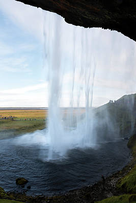 Photograph - Seljalandsfoss Waterfall South Iceland by RicardMN Photography