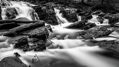 Photograph - Selkefall, Harz In Monochrome by Andreas Levi