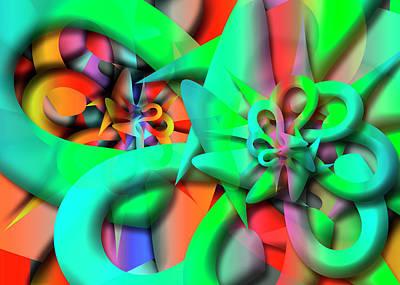Digital Art - Selon Remix by Vitaly Mishurovsky