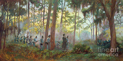 Painting - Seminole War by Blair Updike