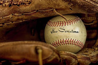 Still Life Royalty-Free and Rights-Managed Images - Senators Baseball by Francis Sullivan