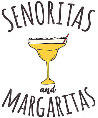 Digital Art - Senoritas And Margaritas by Flippin Sweet Gear