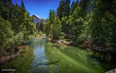 Photograph - Sentinel Bridge View Of Half Dome by LeeAnn McLaneGoetz McLaneGoetzStudioLLCcom