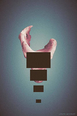Photograph - Sentinelia - Surreal Abstract Elephant Bone With Rectangles by Joseph Westrupp