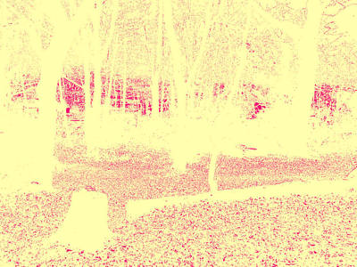 Photograph - Sepia Forest Trees In Highgate Woods 63 by Artist Dot