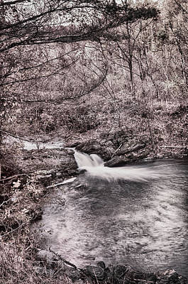 Photograph - Sepia Waterfall by Dan Urban