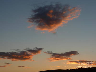 Photograph - September Evening Sky by Phil Banks