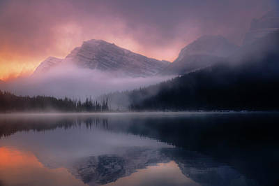 Photograph - September Sunrise Banff by Dan Jurak