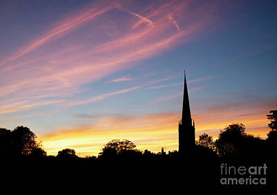 Photograph - September Sunset Burford by Tim Gainey