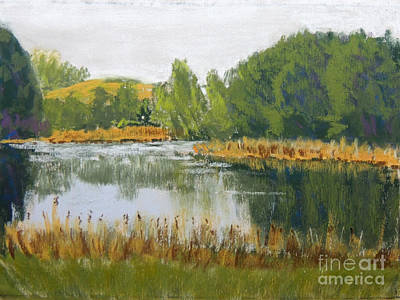 Pastel - Serene Reflections by Jayne Wilson