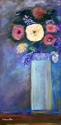 Wall Art - Painting - Serenity  by Donna Carrillo