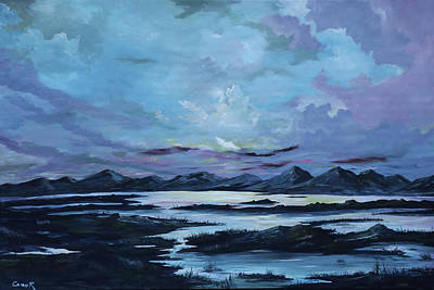 Painting - Serenity In Galway by Conor Murphy