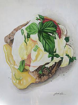 Painting - Serving Breakfast All Day by Jeleata Nicole