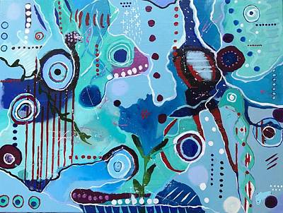 Wall Art - Painting - Seven Days by Kelly Ramsdell